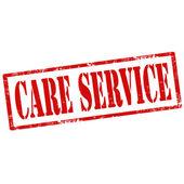 Care Service-stamp — 图库矢量图片