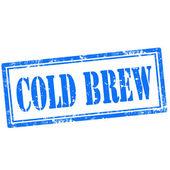 Cold Brew-stamp — Stockvector