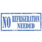 Sem refrigeração necessária-stamp — Vetorial Stock