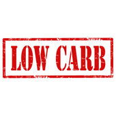 Low Carb-stamp — Stock Vector