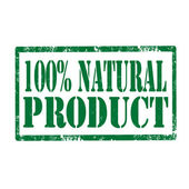 Natural Product-stamp — Vetorial Stock