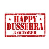 Happy Dussehra-stamp — Stock Vector