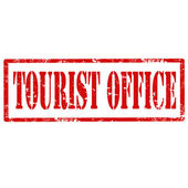 Tourist Office-stamp — Stock Vector