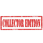 Collector Edition-stamp — Vecteur