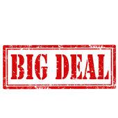 Big Deal-stamp — Stockvector