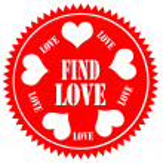 Find Love-label — Stock Vector #48165713