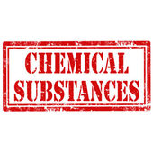 Chemical Substances-stamp — Stock Vector