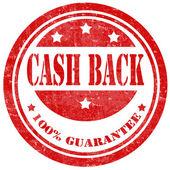 Dinheiro de volta-carimbo — Vetorial Stock