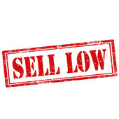 Sprzedam niskie pieczęć — Wektor stockowy