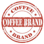 Coffee Brand-stamp — Stock Vector