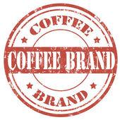 Coffee Brand-stamp — Vector de stock