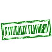 Naturally Flavored-stamp — Vector de stock