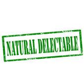 Natural Delectable-stamp — Vector de stock