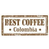 Best Coffee-stamp — Vector de stock