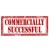 Commercially Successful-stamp — Vector de stock
