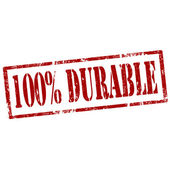 Durable-stamp — Vettoriale Stock