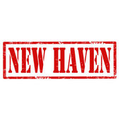 New Haven-stamp — Stock Vector