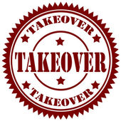 Takeover-stamp — Stock Vector