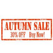 Autumn Sale-stamp — Vetorial Stock