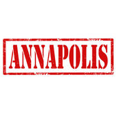 Annapolis-stamp — Stock Vector