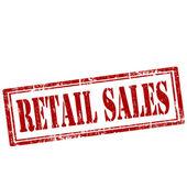 Retail Sales-stamp — Stock Vector