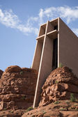 Holy Cross Chapel of Sedona — Stock Photo