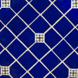 Royalty-Free Stock Photo: Blue Ceramic Tile Wallpaper Background