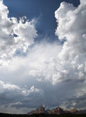 Cloudscape over Sedona Mountains — Stock Photo