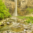 Waterfall and Gorge — Stock Photo