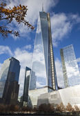 NEW YORK CITY, November 19, 2013: Freedom Tower — Stock Photo