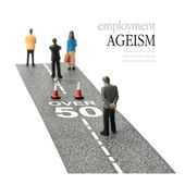 Employment ageism — Stock Photo