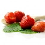 Strawberries Macro — Stock Photo