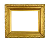 Vintage Gilt Picture Frame — Stock Photo