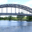 Bridge Over River Trent — Stock Photo