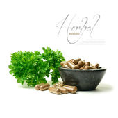 Herbal Medicine 3 — Stock Photo