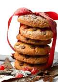 Christmas Cookie Stack — Stock Photo