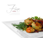 Fine Scallops — Stock Photo