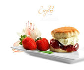 English Scone — Stock Photo