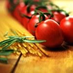 Tomato Vine and Pasta — Stock Photo #33652457