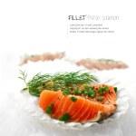 Salmon Fillets — Stock Photo