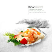 Classic Prawn Cocktail — Stock Photo
