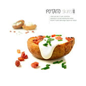 Potato Skins 3 — Stock Photo