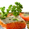 Salmon Fillet — Foto de Stock