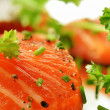 Stock Photo: Salmon Fillet 3