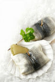 Herring Rolls (Roll Mops) — Stock Photo