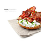 Bacon Sandwich 3 — Stock Photo