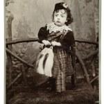 Victorian boy wearing a kilt — Stock Photo #40530823