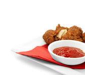 Pollo fritto del sud 2 — Foto Stock