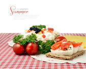 Summer Snacks 2 — Stock Photo