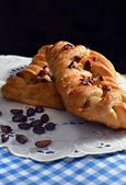 Maple And Pecan Plait — Stock Photo